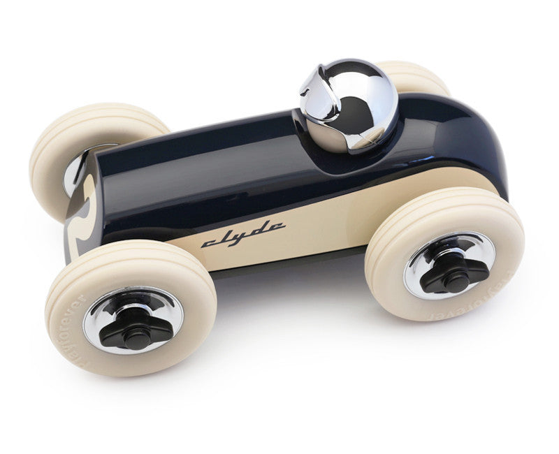 PLAYFOREVER-MIDI-CLYDE-MIDNIGHT-CAR-TOYS- RACING-BRITISH-TOY-FUN-CHILDREN-AMERICAN-RETRO-VINTAGE-WOOD-ourgallerystore-museum-store-contemporary-art-high-design-functional-art