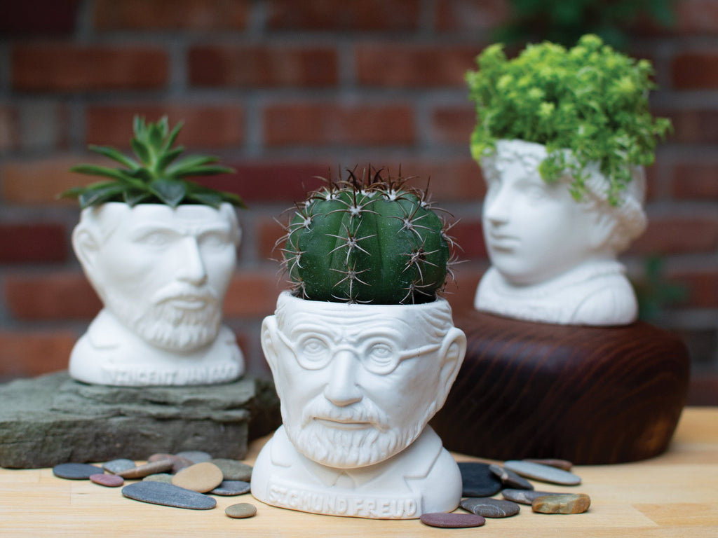 Fertile Minds Ceramic Planter Pots