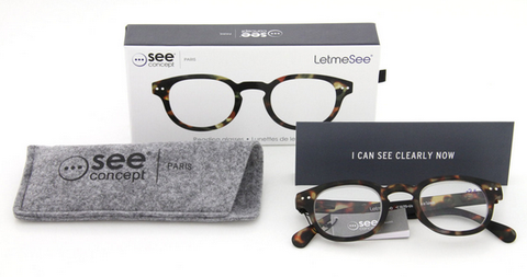 Let Me See Reading Glasses - See Concept