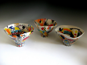 "Joanne Jaffe: ""Homage to Lucie Rie"", Bowls"