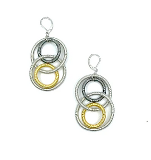 Lorraine Sayer Multi Large Loop Earring