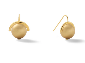 Catherine Canino Classic Large Pearl Sph Earring