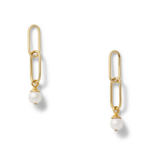 Catherine Canino Paper Clip Earring