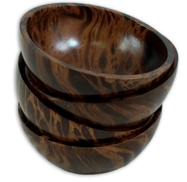Mango Wood Bowls- Two-tone
