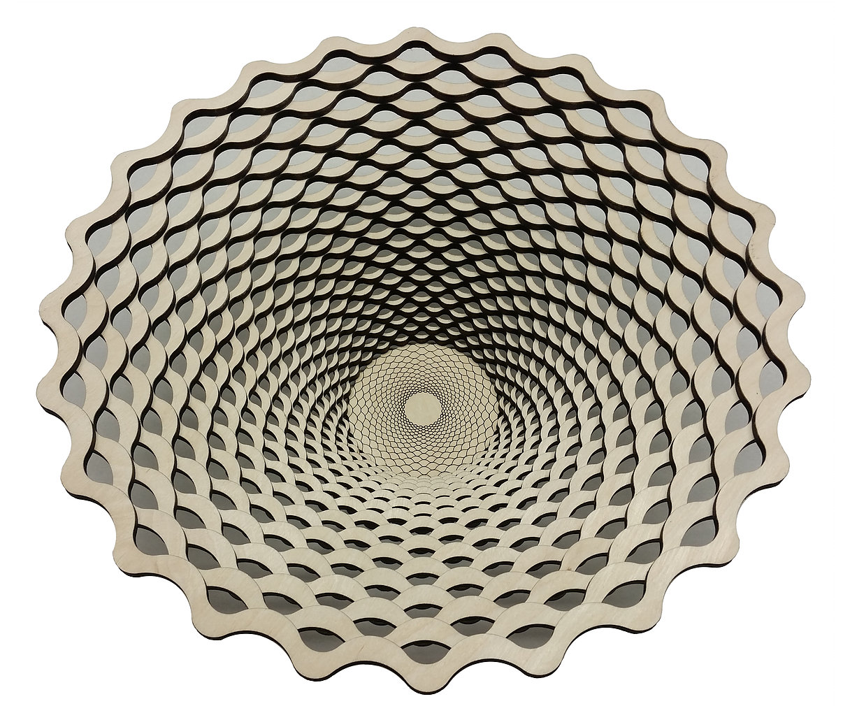 wood, bowl, design, math, fibonacci