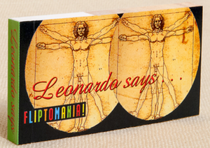 Leonardo Muscle Man Flip Book