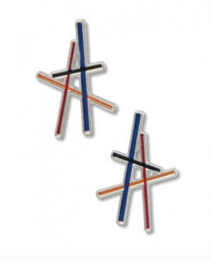 X David Howell - Resonating Lines Earrings