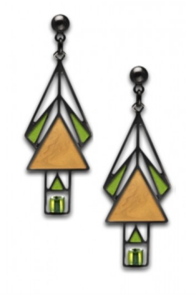David Howell - Mahony Window Earrings