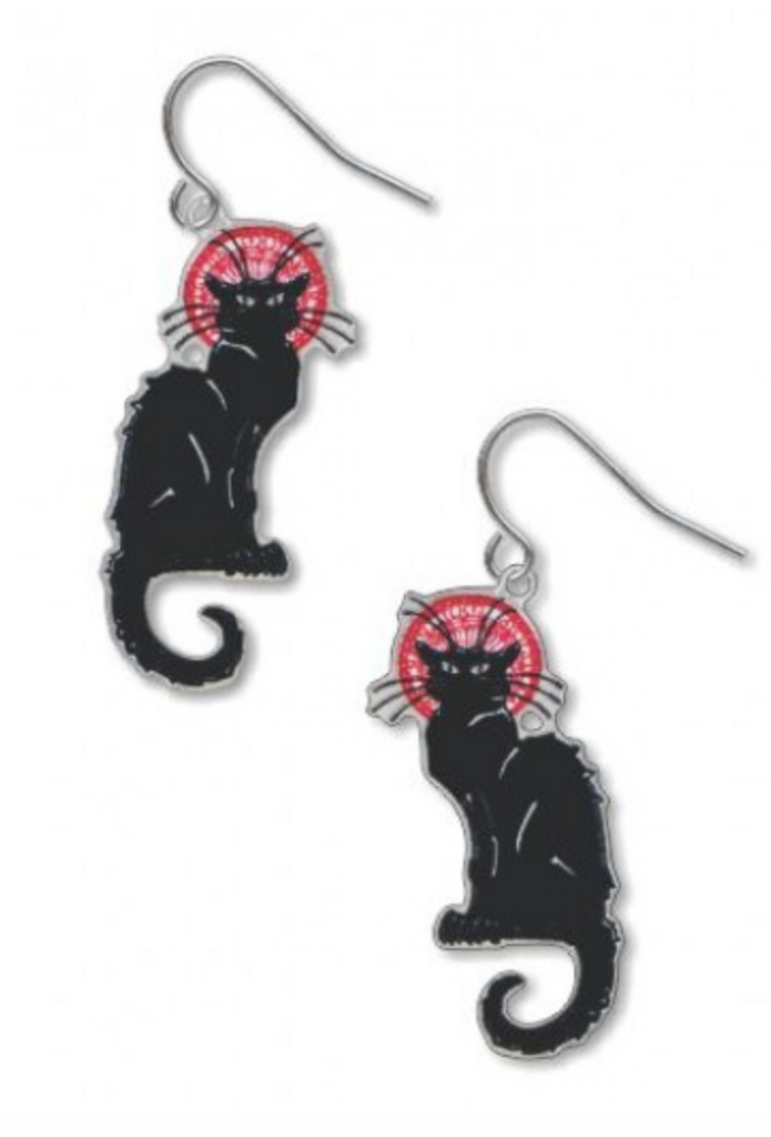David Howell - Le Chat Noir Earrings