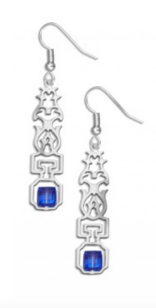 David Howell - Escutcheon Earrings