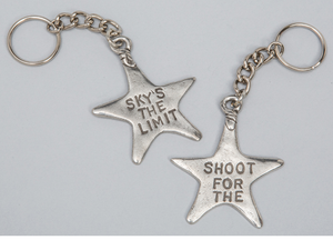 Tamara Hensick Sky's the limit / Shoot for the Stars Keychain