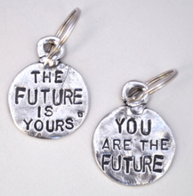 Tamara Hensick The Future is yours and you are the future Keychain