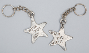 Tamara Hensick Wish you may / Wish you might Keychain