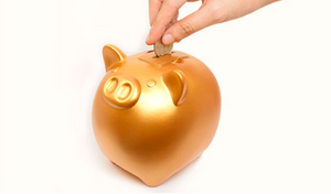 Coink! Large Piggy Bank with Sound