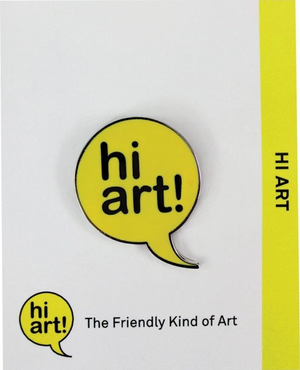 Hi Art! Enamel Pin