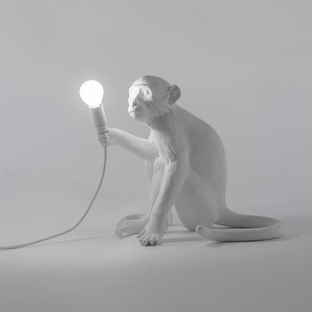 Monkey Lamp - Sitting
