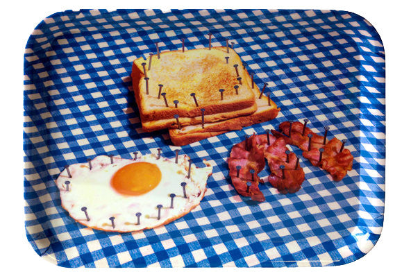 Seletti Toiletpaper Nailed Breakfast Serving Tray
