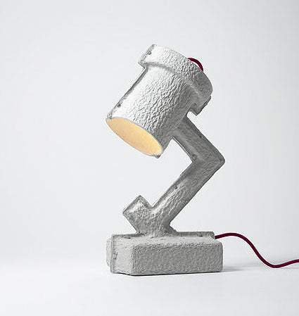 Trash Me Table Lamp by Victor Vetterlein