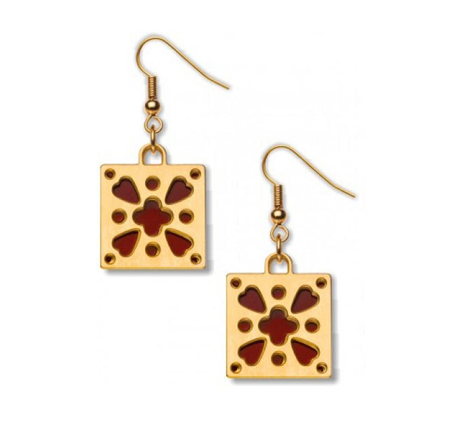 David Howell - Belt Mount Earrings