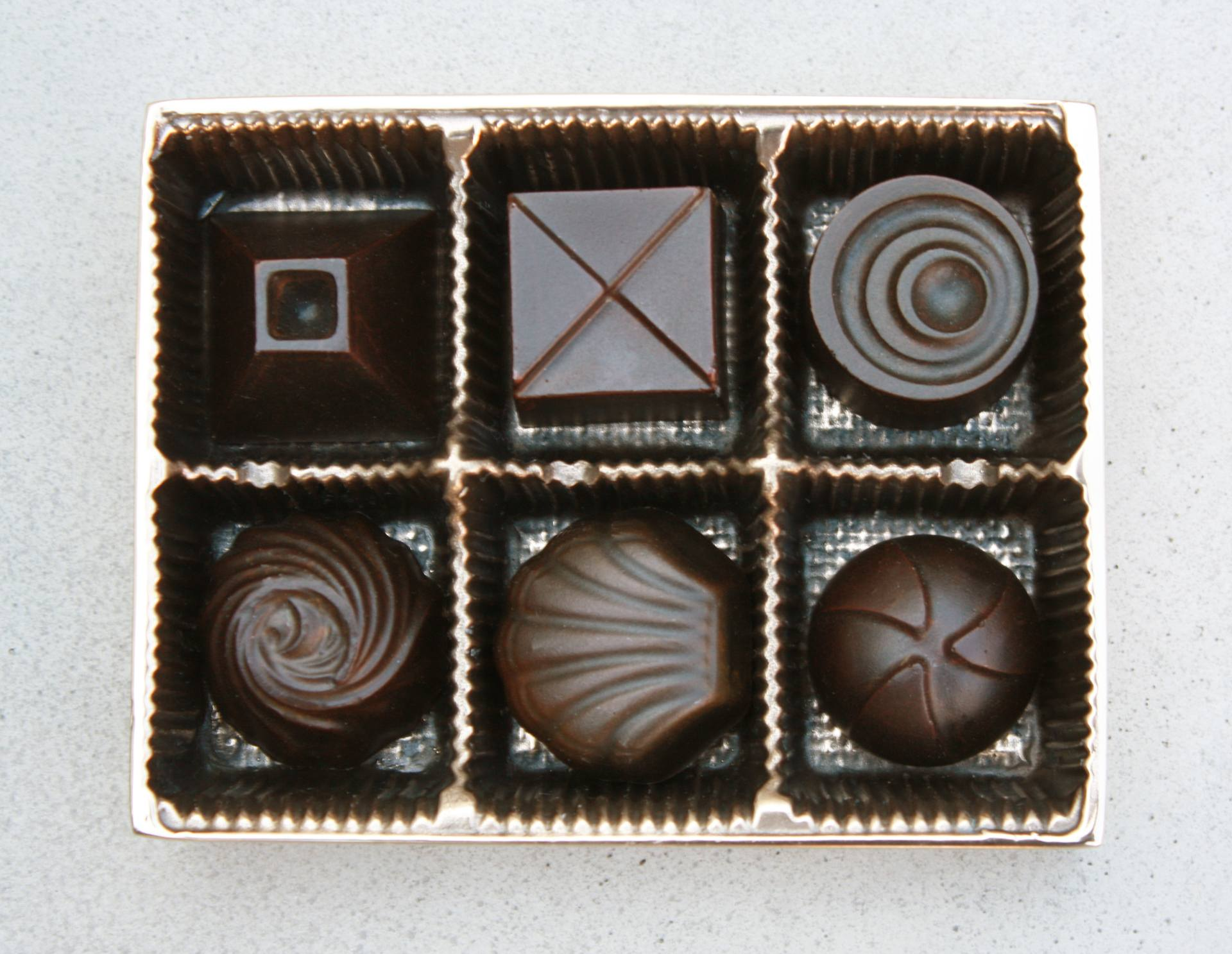 Bronze Chocolates by Kevork Cholakian
