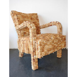 Cork Armchair by Gabriel Wiese