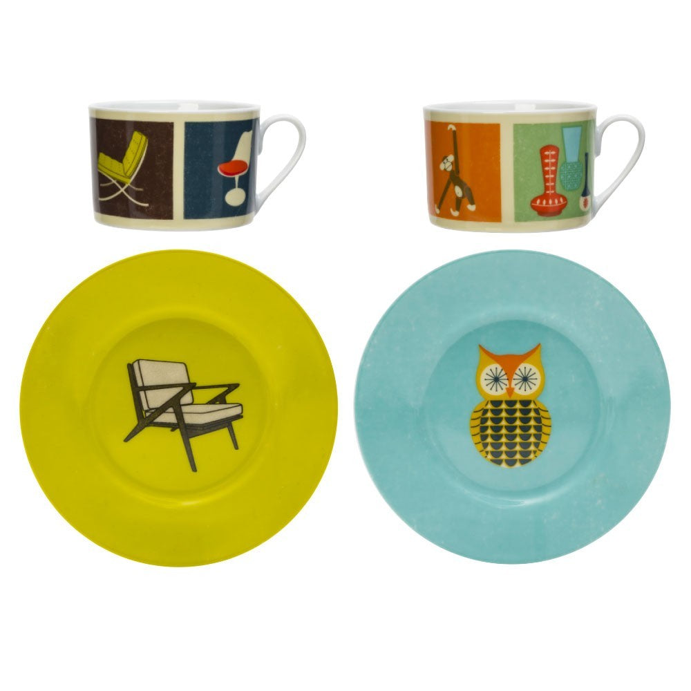The Modern Home Cups and Saucers - Chairs and Collectables