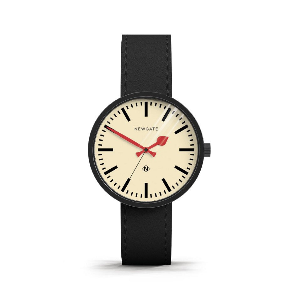 Newgate Drummer Watch - Black