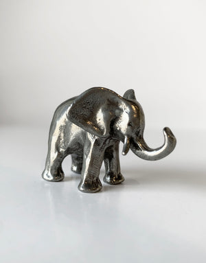 Tamara Hensick Pewter Elephant Sculpture