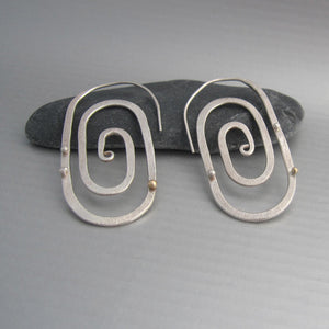 Maddalena Bearzi germogli earrings