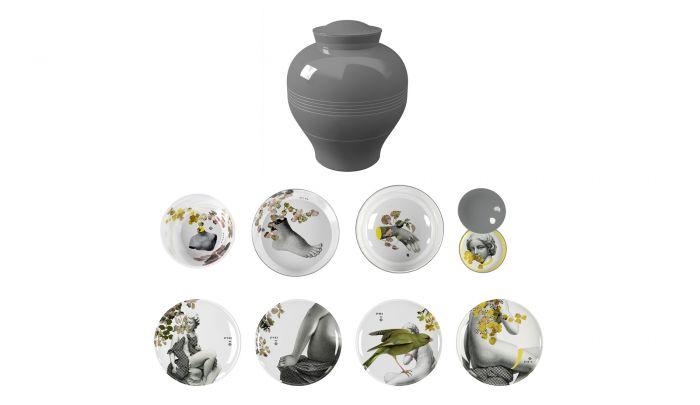 iBride Yuan Parnasse - Stackable Dinner Set