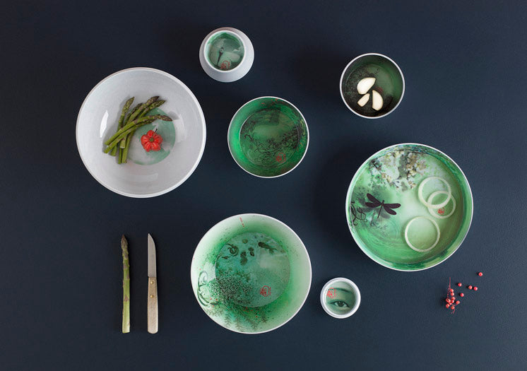 iBride Ming Acqua - Stackable Dinner Set