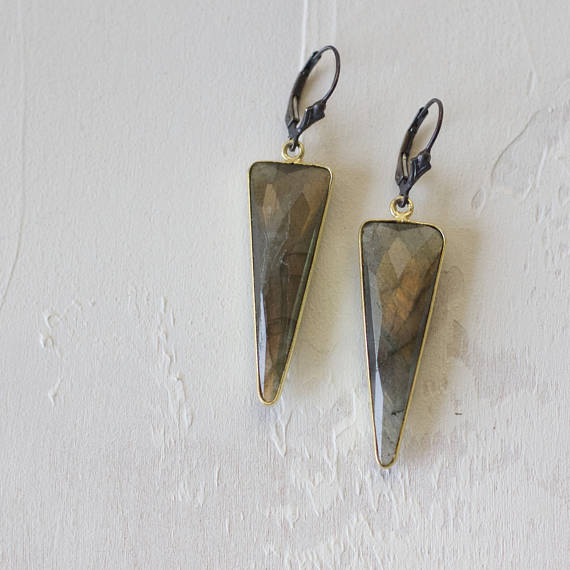 Tri-Lab Earrings, Tania Rodamilans