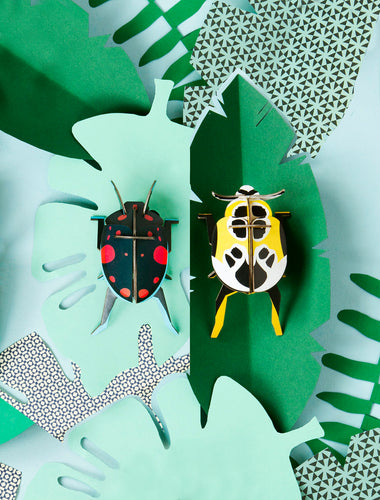 Beetles paper kit - Lady