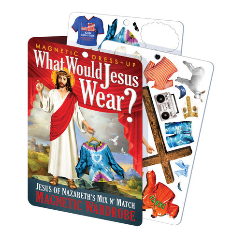 What Would Jesus Wear? Magnetic Dress Up