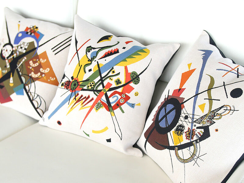 Jules Pansu - Kandinsky Case and Pillow