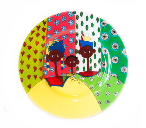 Hand Made Senegal Plates
