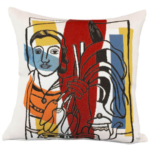 Jules Pansu - F. Leger Pillow Cover