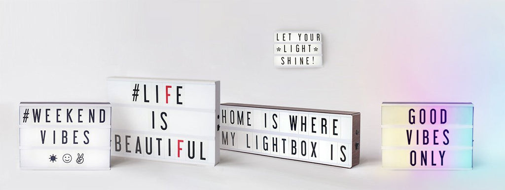 My Cinema Lightboxes