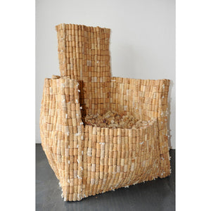 Cork Armchair - Loose Cork by Gabriel Wiese