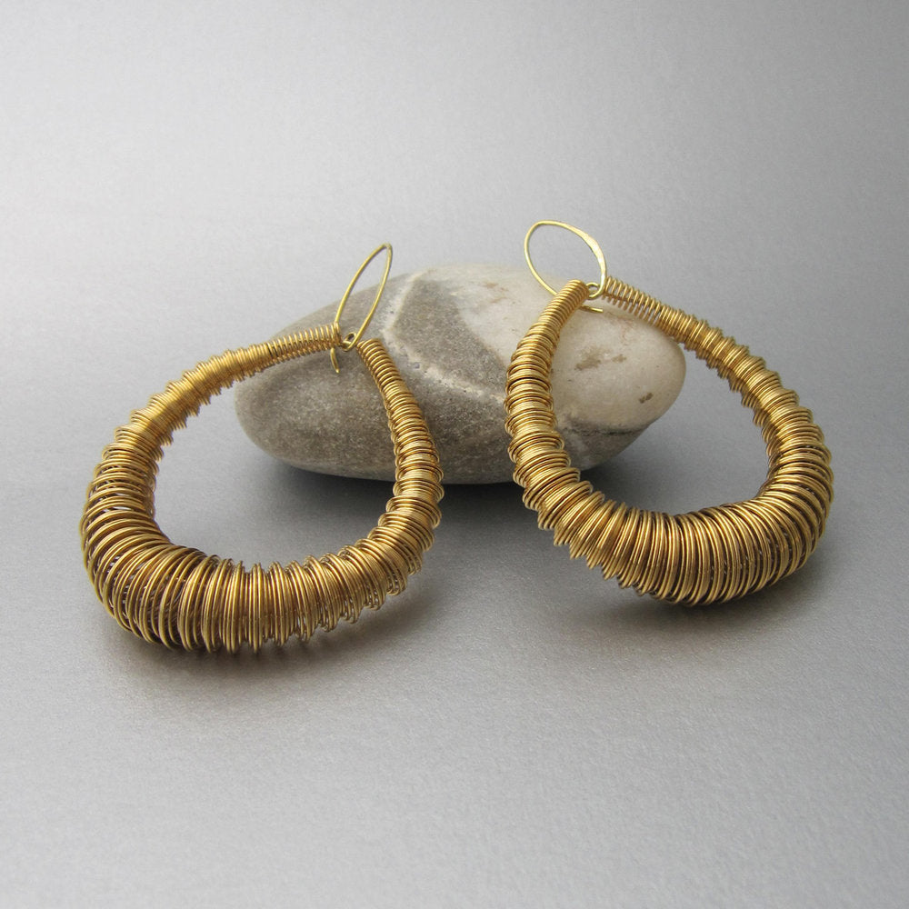 Maddalena Bearzi Millepiede Oro Earrings