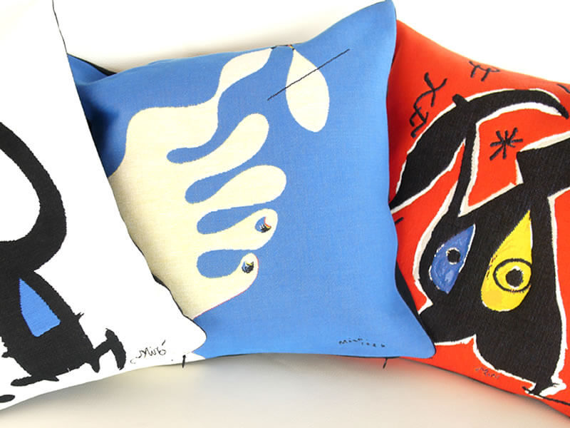 Jules Pansu - Joan Miro Pillow Covers