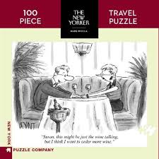 New Yorker Cartoon Mini Puzzles