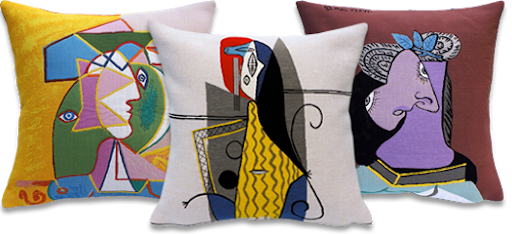 Jules Pansu - Picasso Pillow Covers
