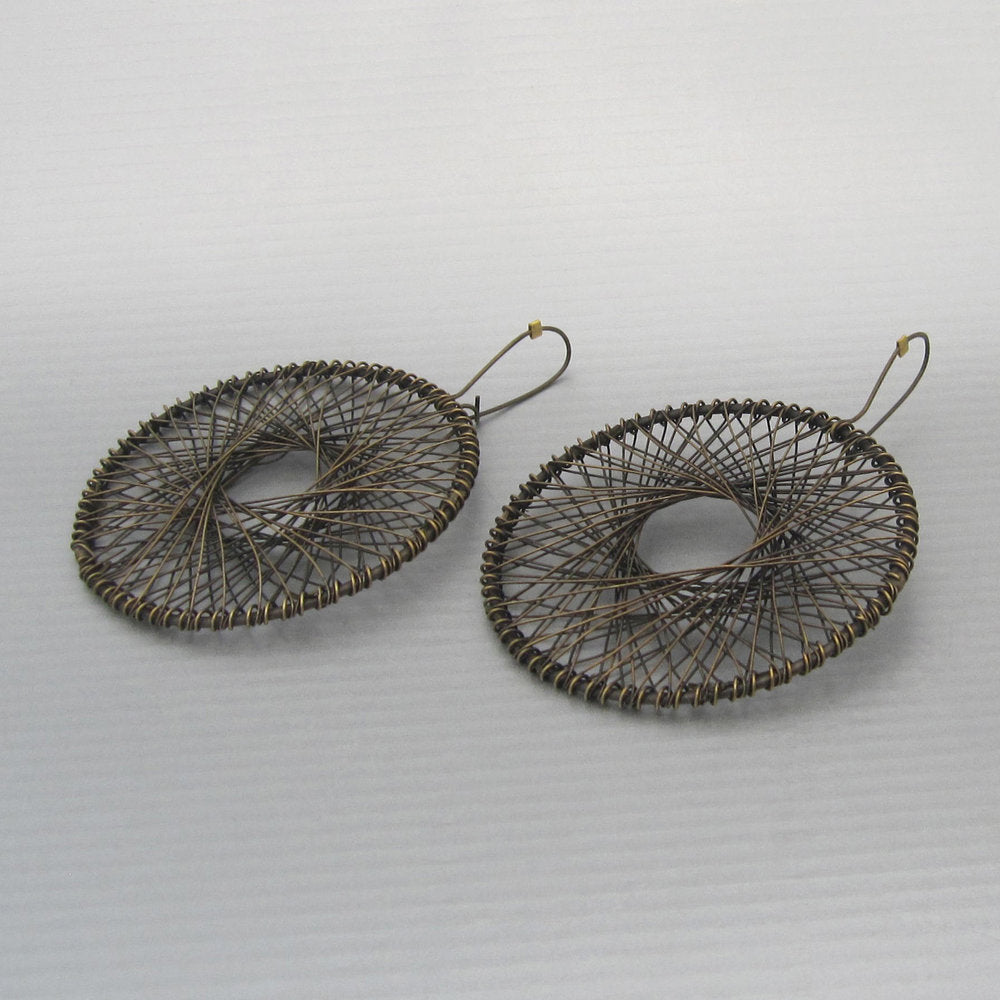 Maddalena Bearzi radiolario grande earrings