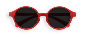 Izipizi Sun Kids Red Children's Sunglasses for ages 0-12 months