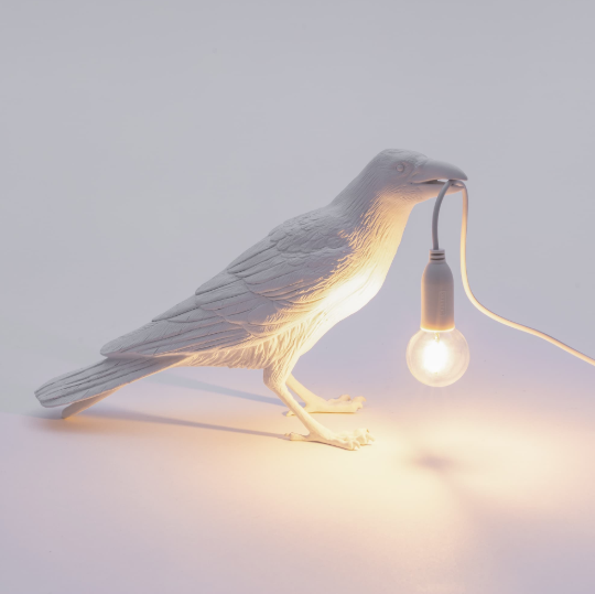 Bird Lamp - Waiting