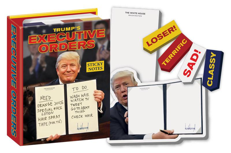 Trump Executive Order Sticky Notes