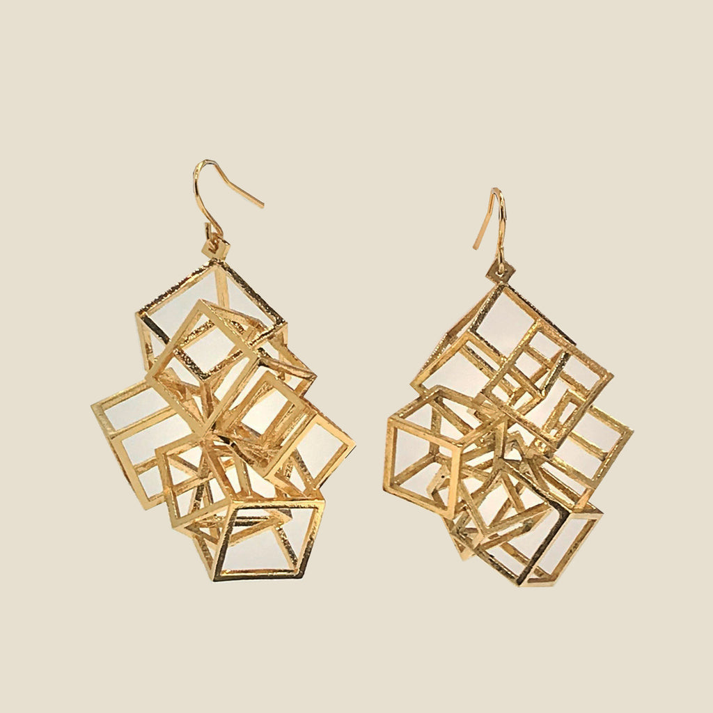 Ziba Esmaeilian Zicube Earrings