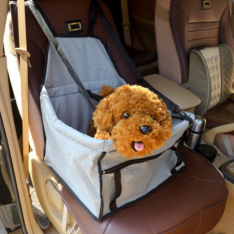 Waterproof Dog Bag Pet Car Carrier Basket
