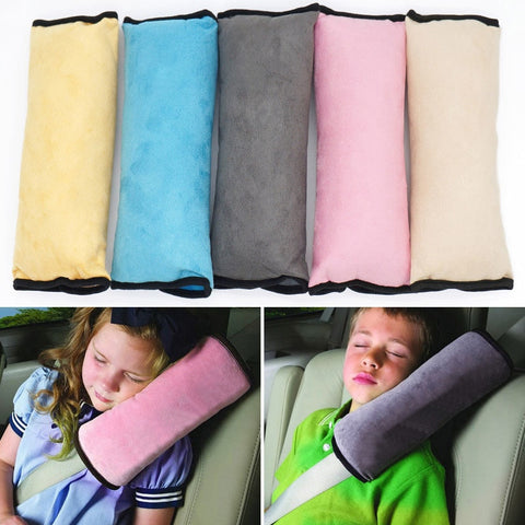 Pillow Seat Belt Strap Covers for Kids